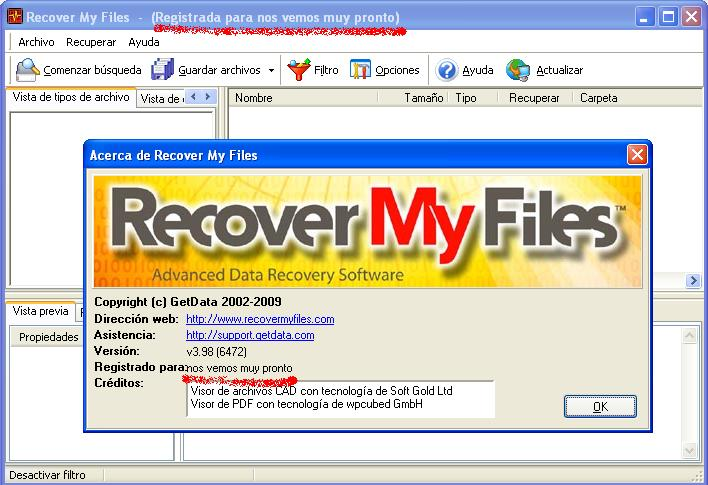 Recover My Files V5 Key