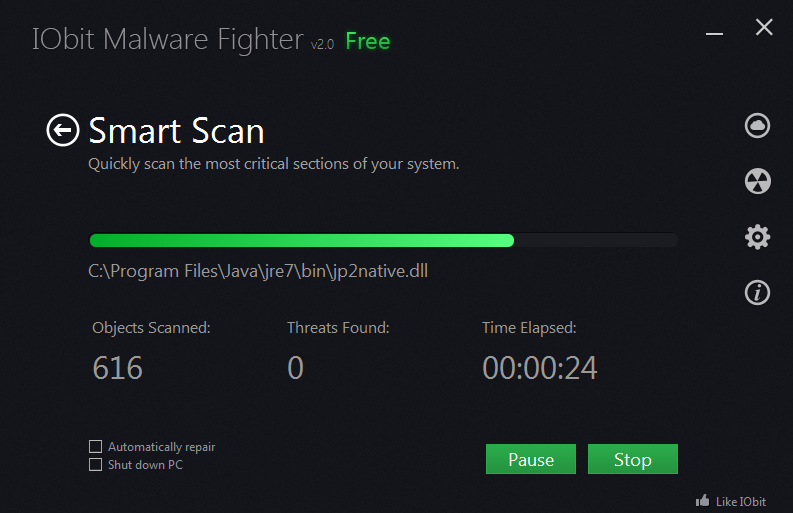 IObit Malware Fighter Pro Key with License Code Free Download