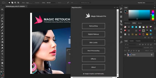 Magic Retouch Pro Crack 4.0 Plug-in for Adobe Photoshop Win/Mac
