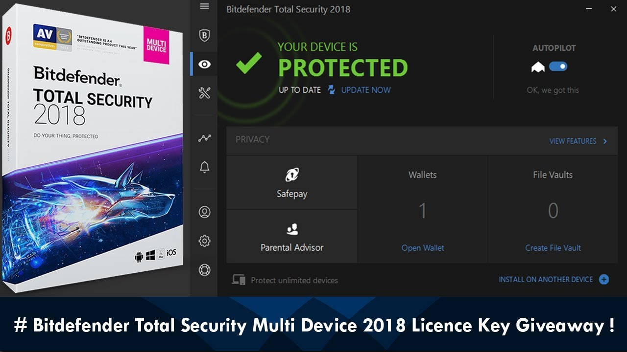 Bitdefender Total Security 2020 Crack + Activation Code [Latest]